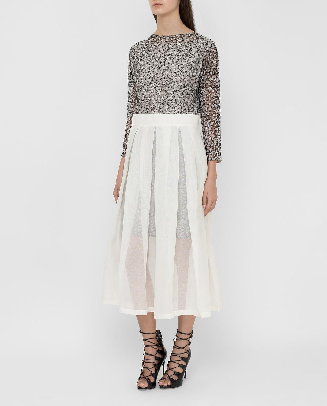 A la Russe Белое платье 172321 изображение 3