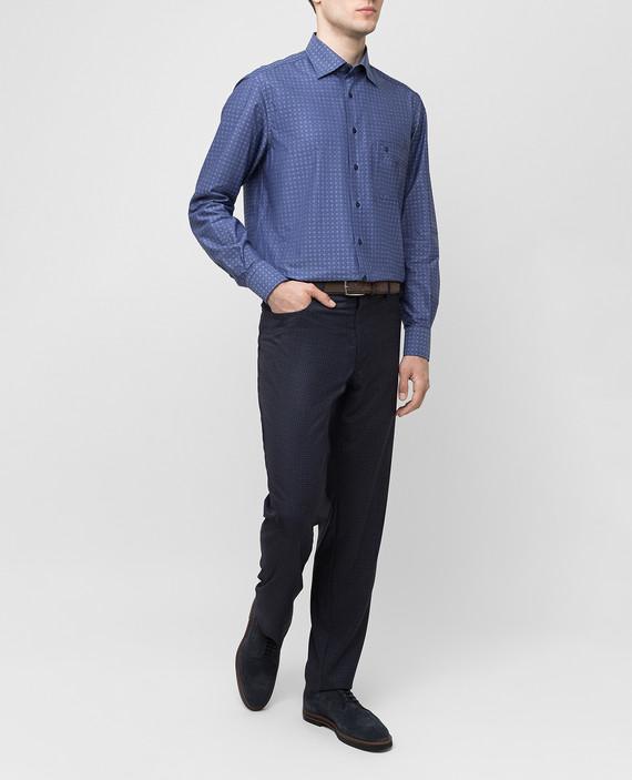 Синяя рубашка hover