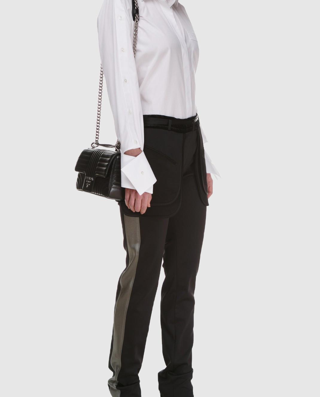 Valentino Черные брюки PB0RB2A53Q3 изображение 2