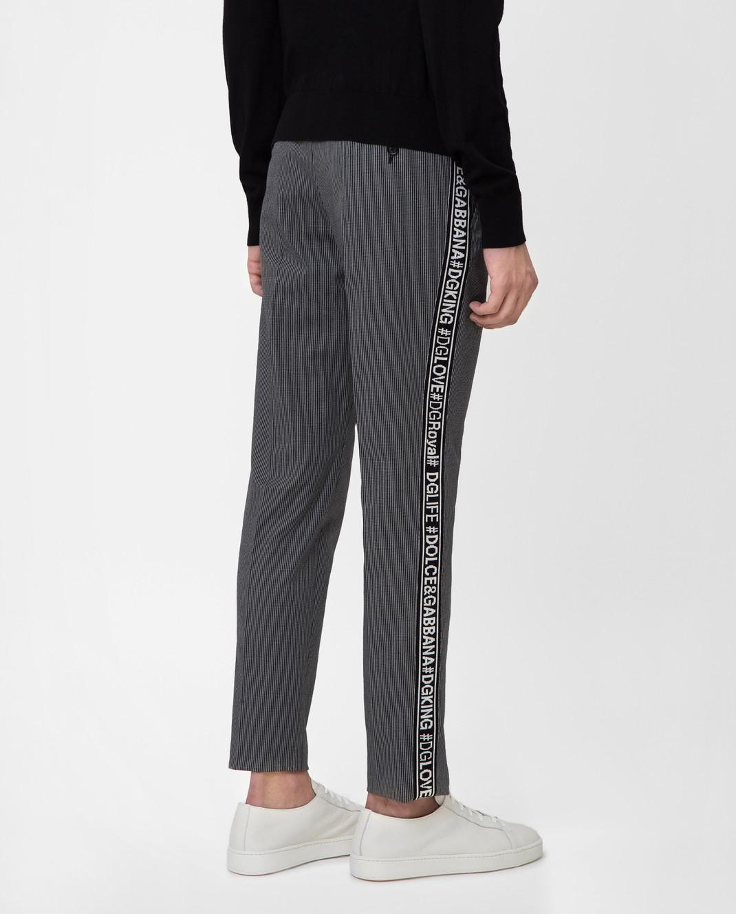 Dolce&Gabbana Серые брюки GYIJETFRCBQ изображение 4