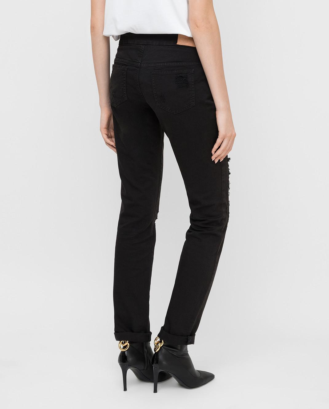 Giamba Черные джинсы изображение 4