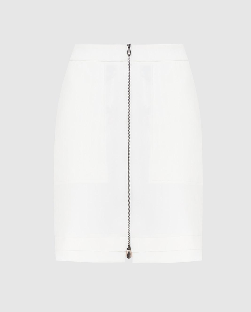 Bottega Veneta Белая юбка 405116