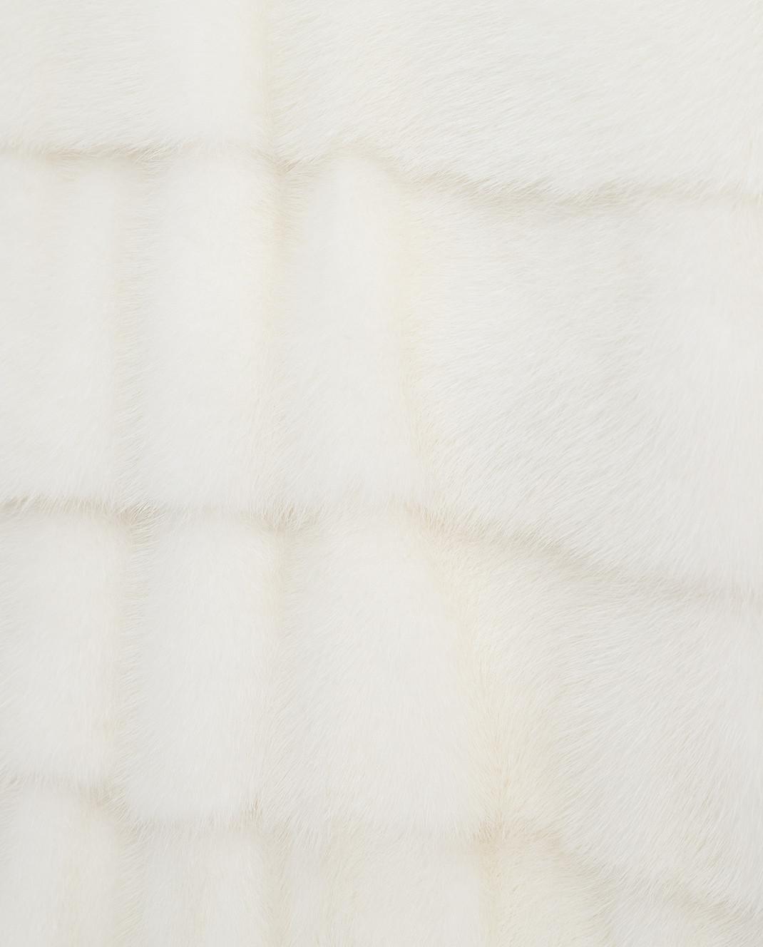 Annabella Белая шуба из норки 5FR1J изображение 5