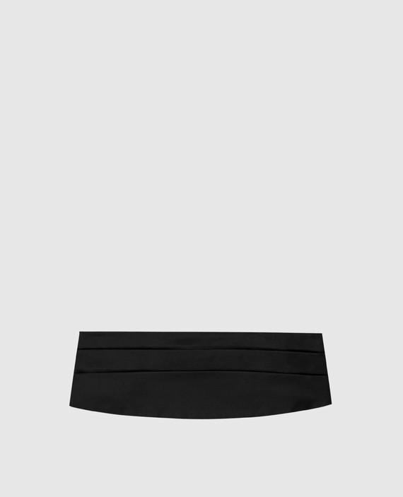 Черный камербанд
