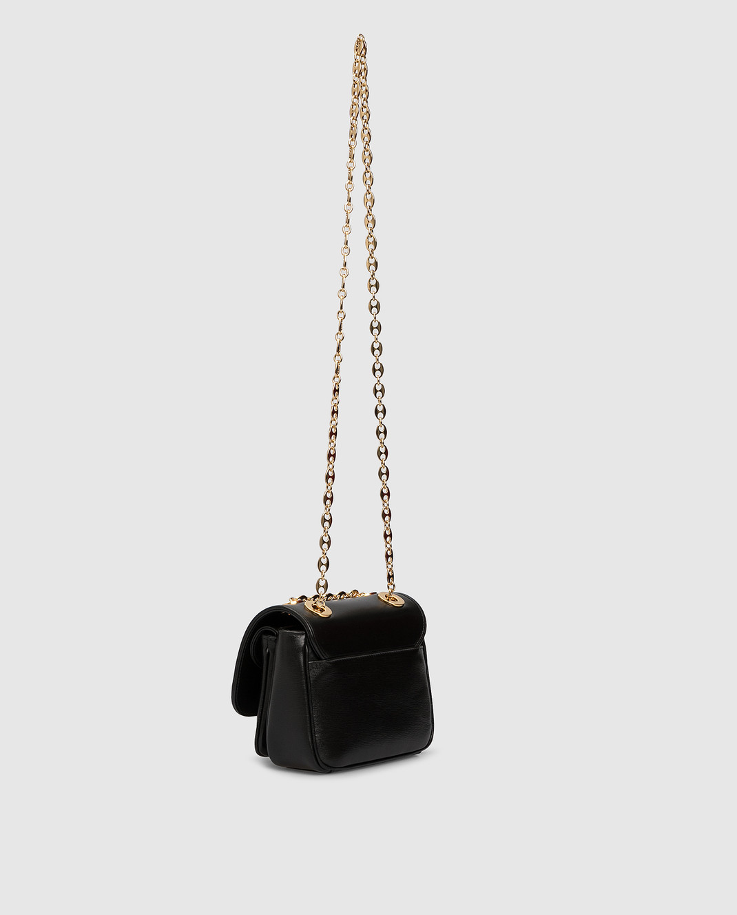 Gucci Черная кожаная сумка изображение 3