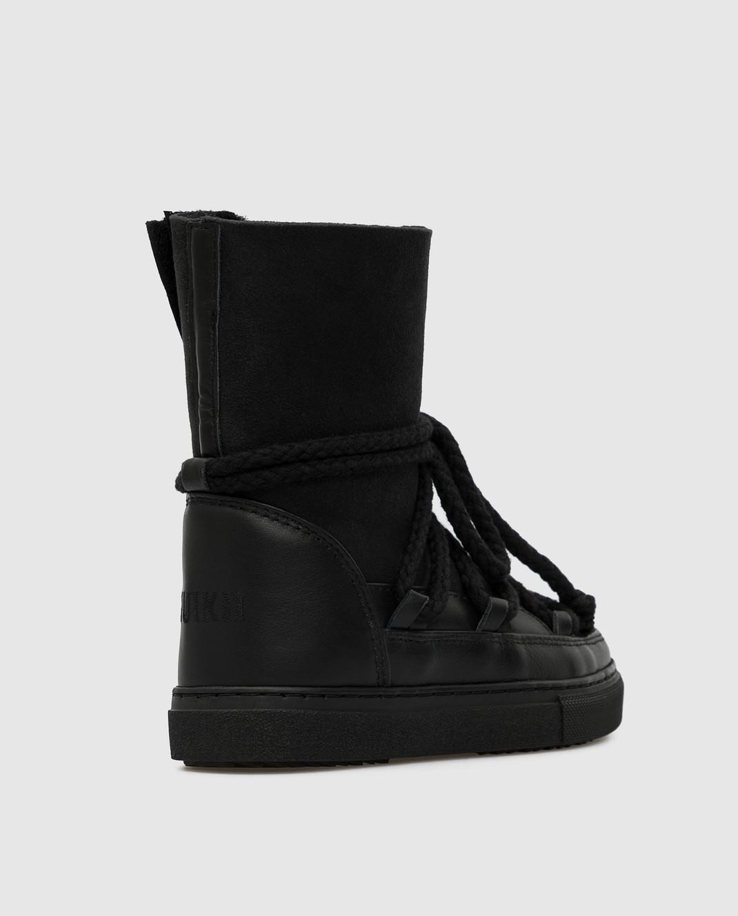 Inuikii Детские черные ботинки изображение 3