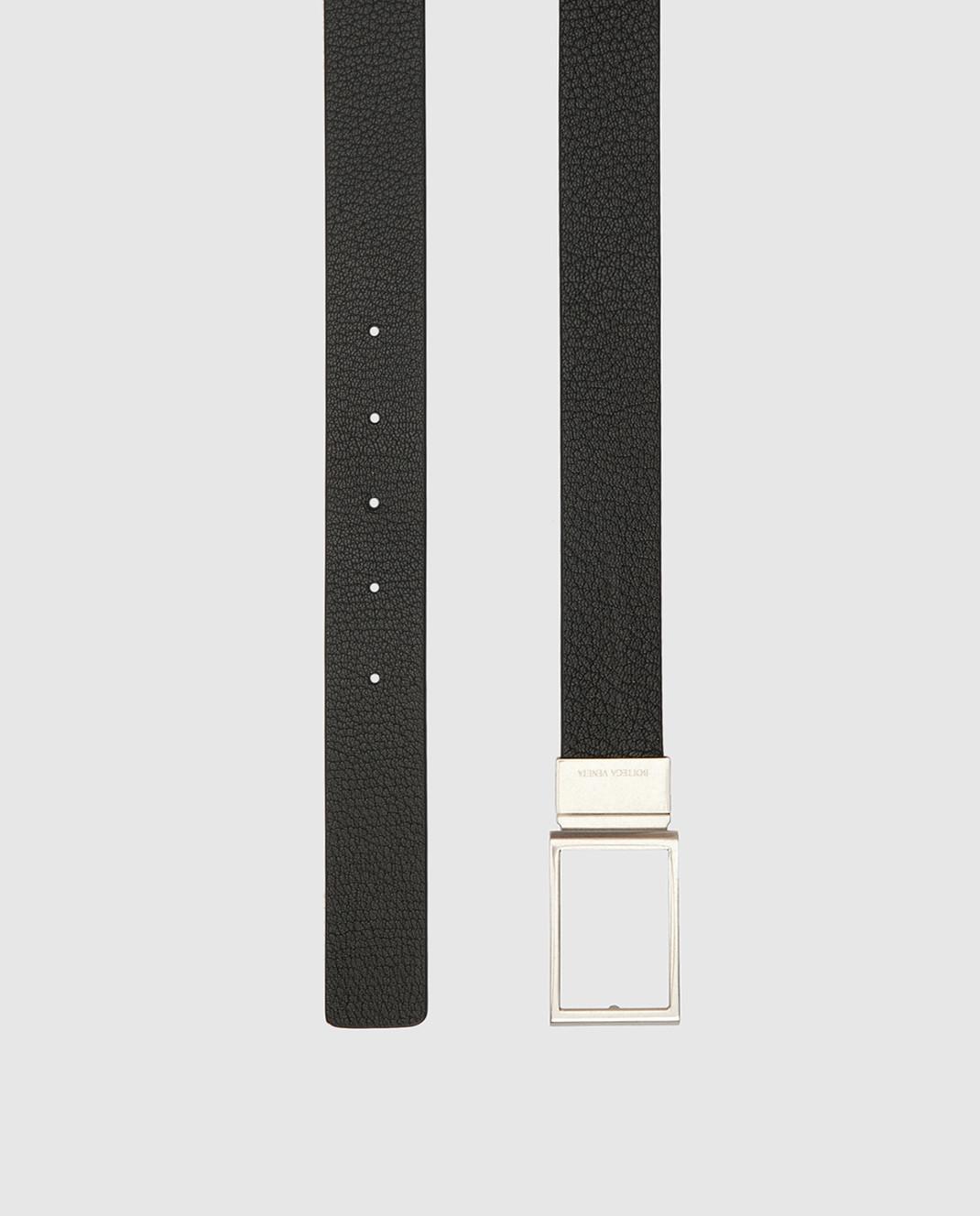 Bottega Veneta Двухсторонний кожаный ремень изображение 4