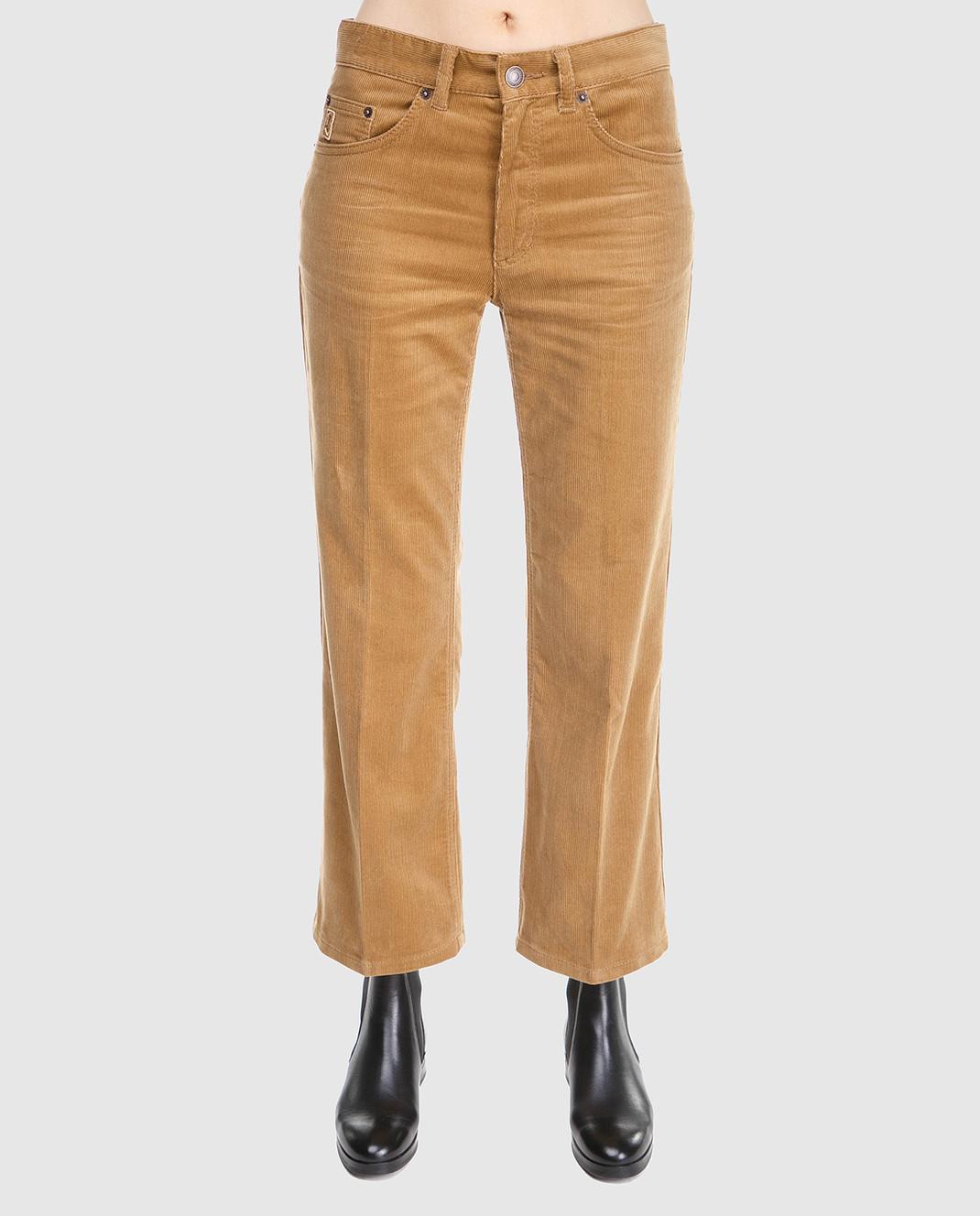 Marc Jacobs Рыжие вельветовые брюки M4007092 изображение 3