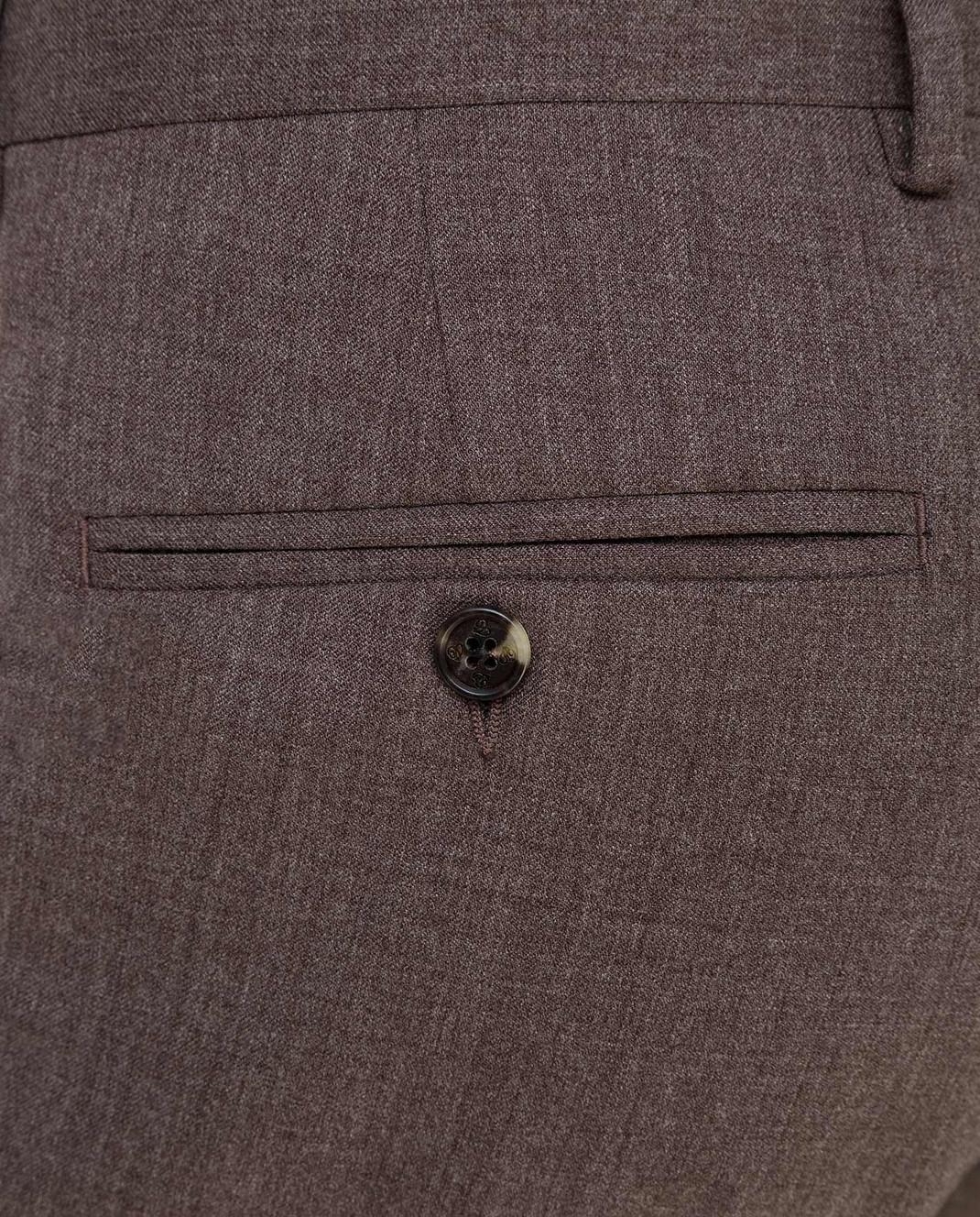 Castello d'Oro Бежевые брюки из шерсти изображение 5