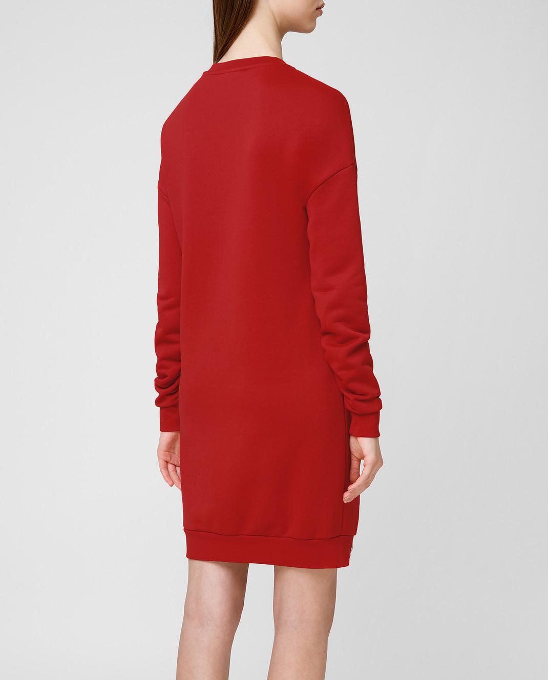 Philipp Plein Красное платье WJO0373 изображение 4
