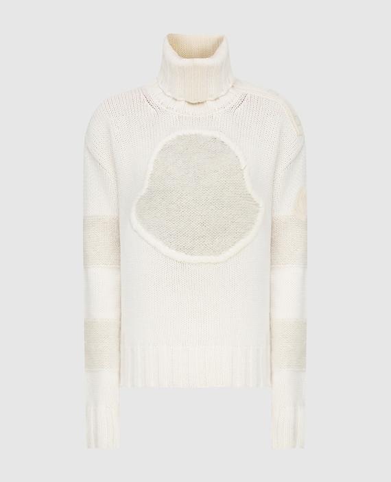 Светло-бежевый свитер