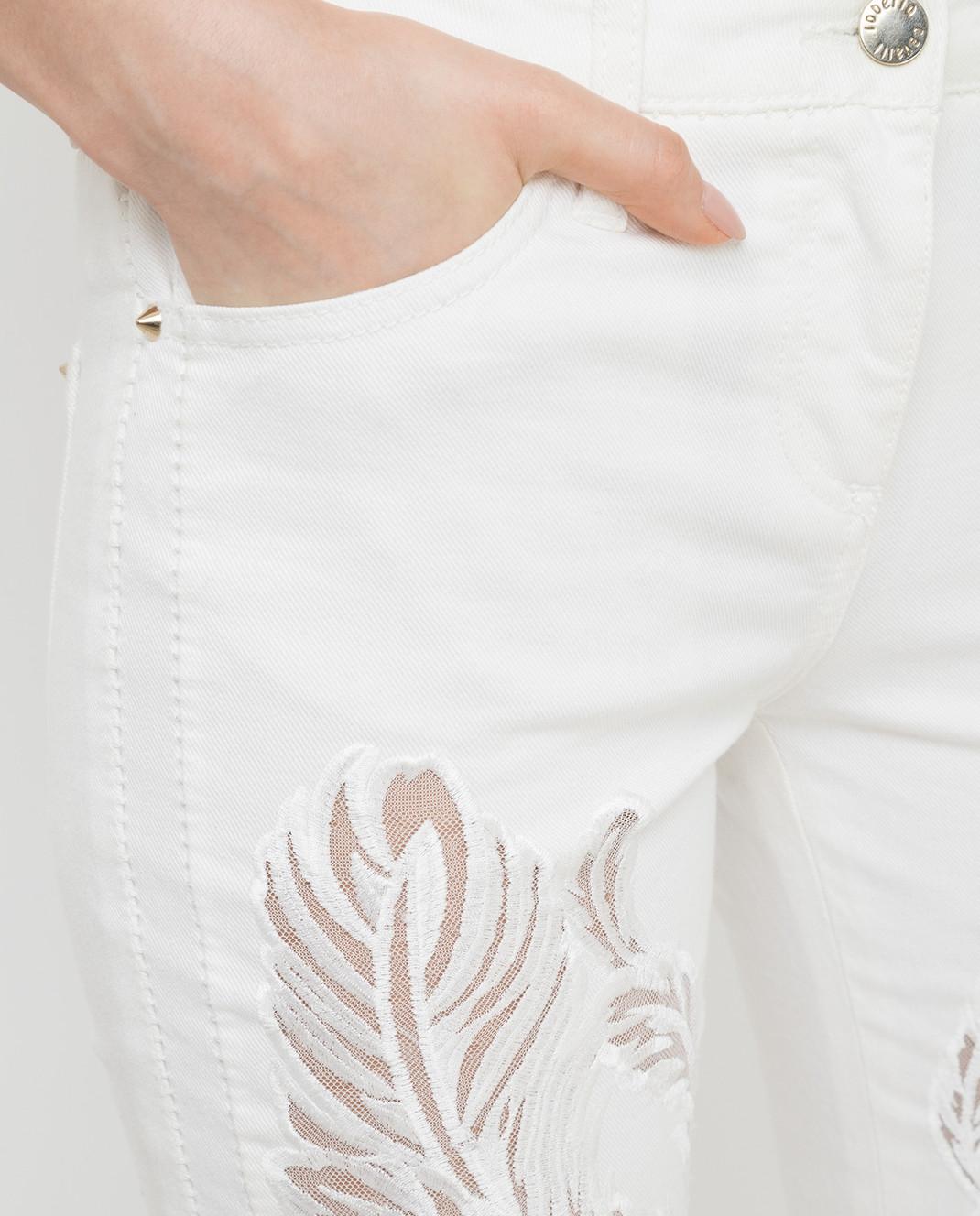 Roberto Cavalli Белые джинсы CQJ241 изображение 5