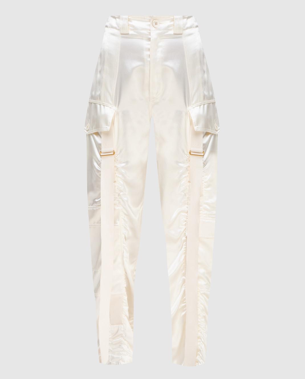 Balenciaga Светло-бежевые брюки изображение 1