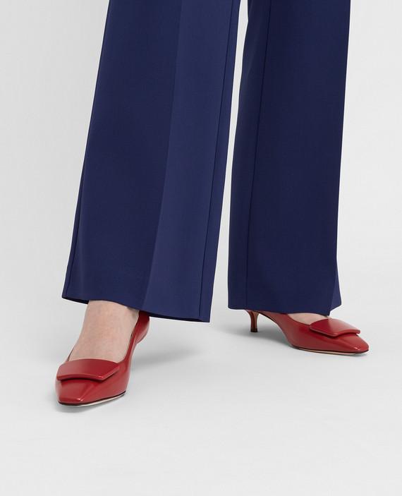 Красные кожаные туфли hover