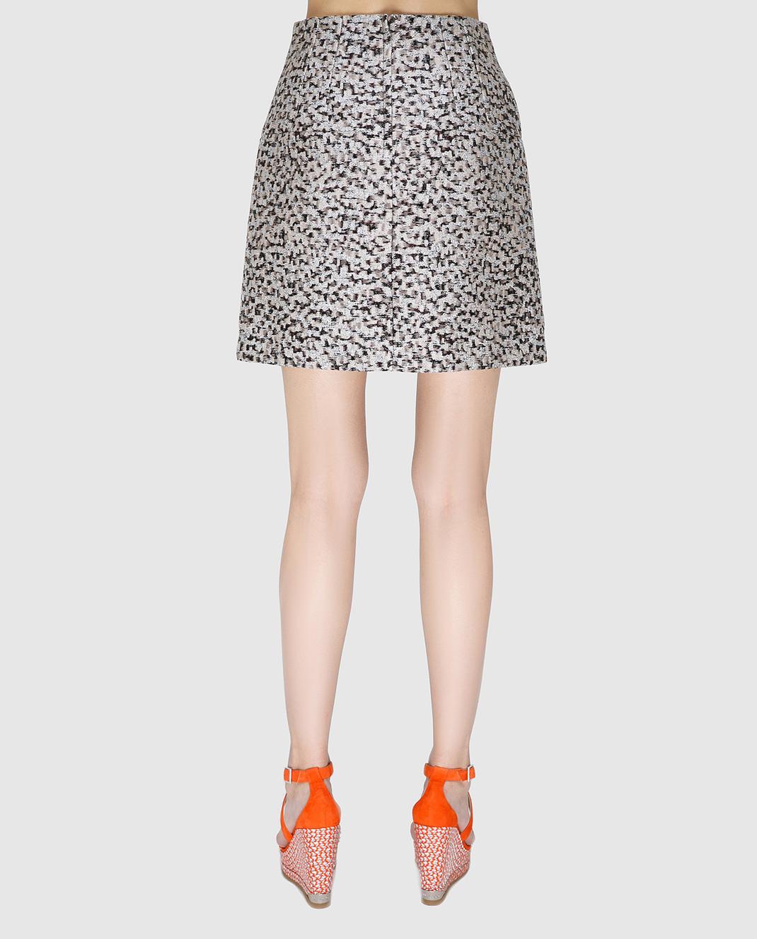 Dolce&Gabbana Серая юбка изображение 3