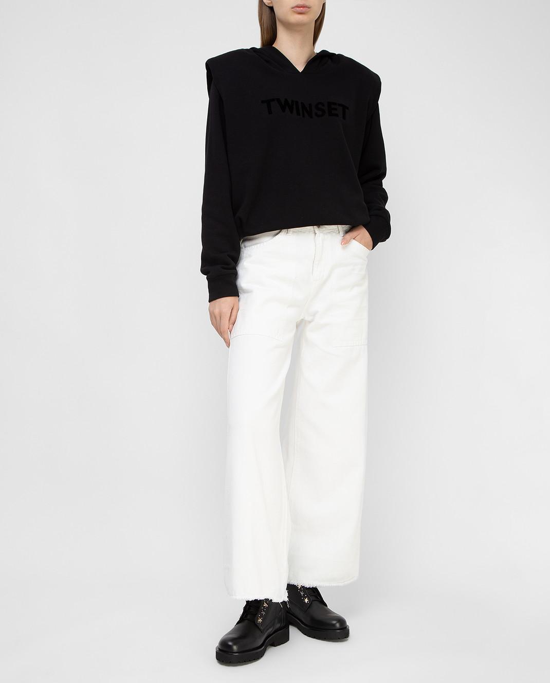 Twin Set Белые джинсы PS72S6 изображение 2