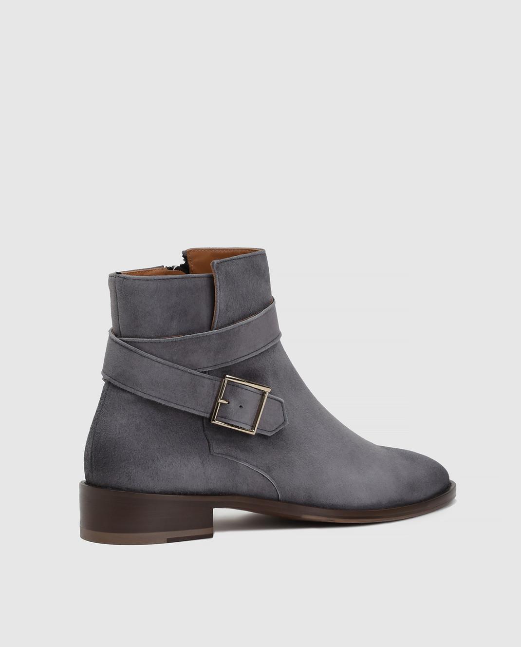 Doucal's Серые замшевые ботинки DD8252PATCUF083 изображение 4