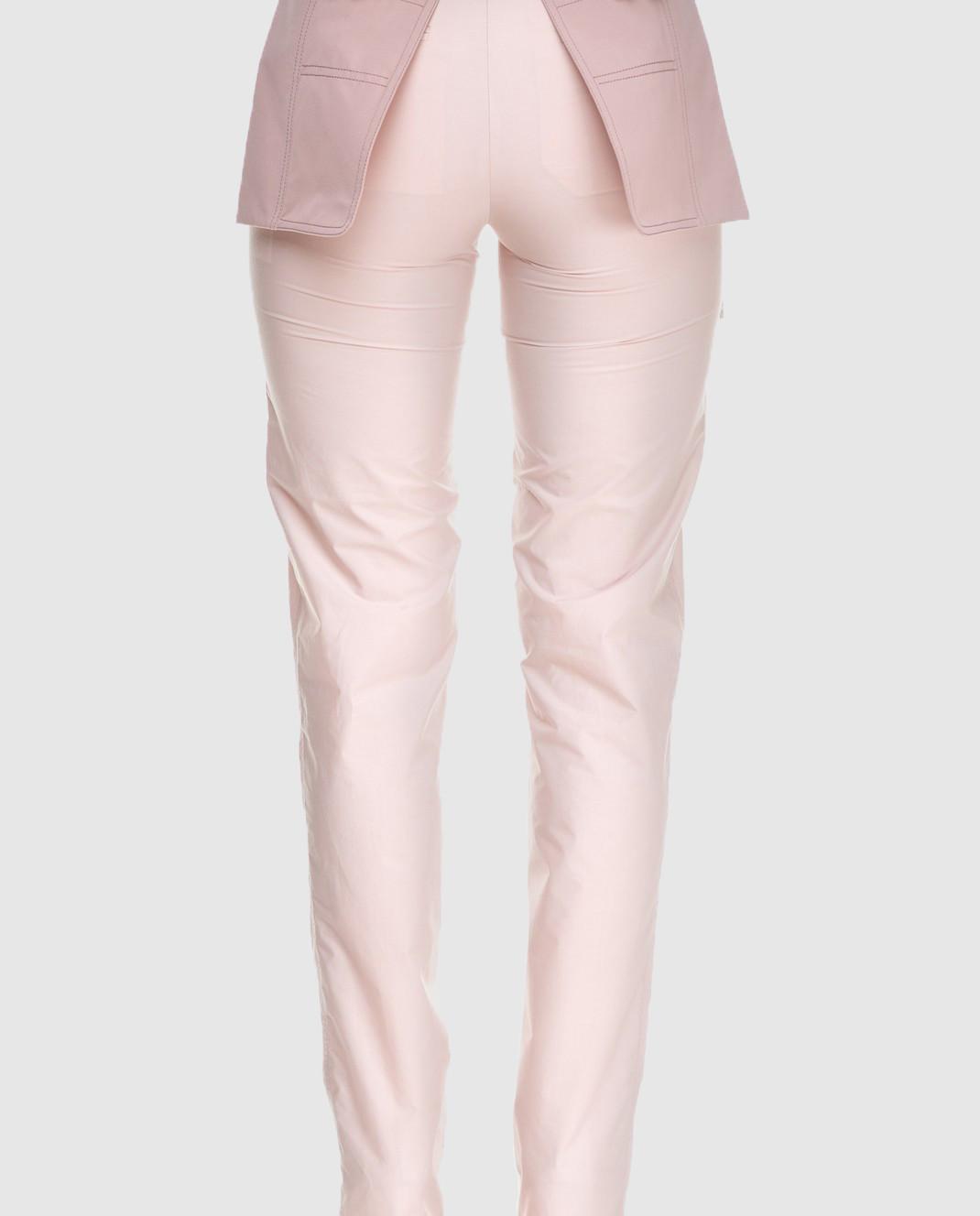 Valentino Бежевые брюки PBARB2853VG изображение 4