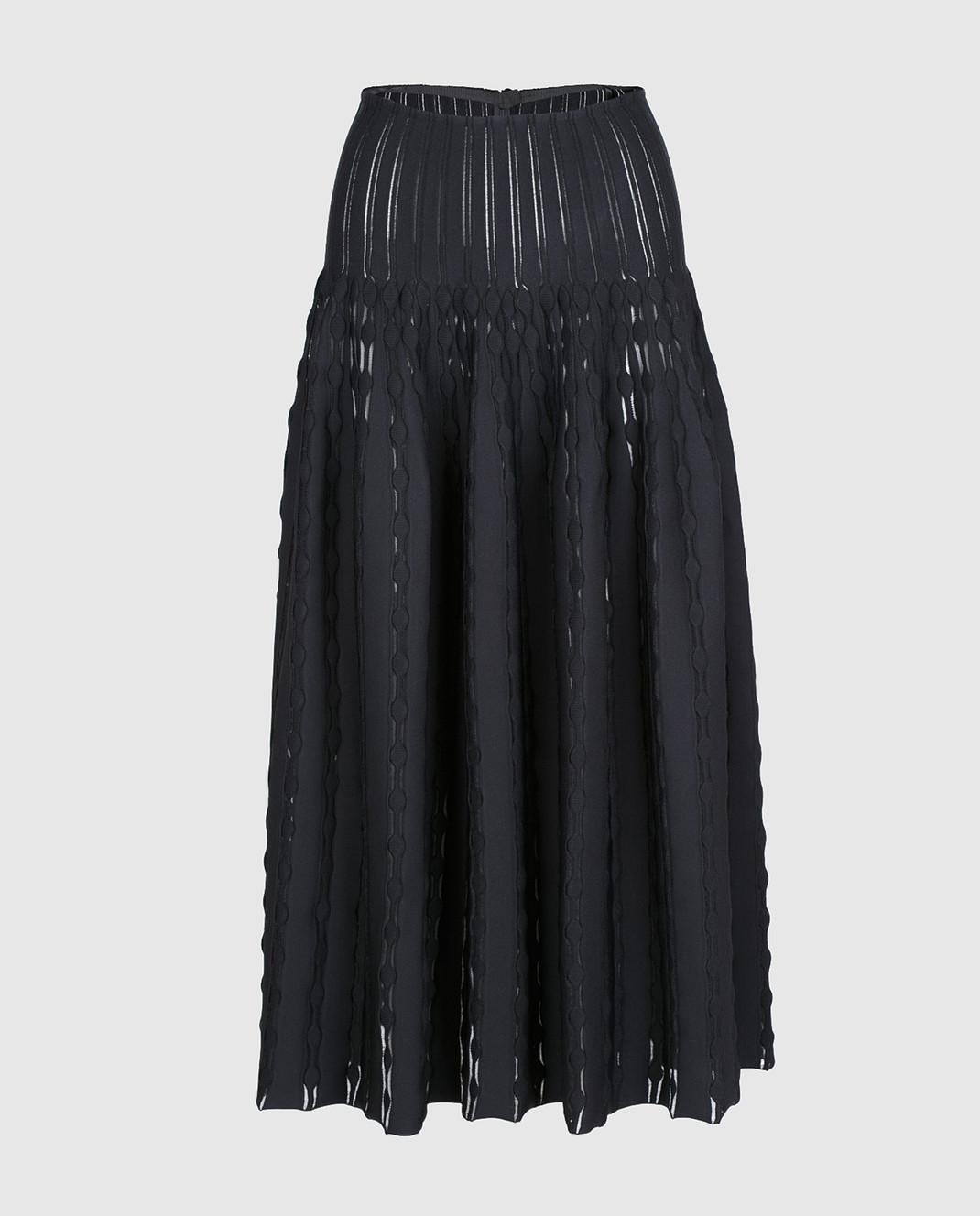 Azzedine Alaia Черная юбка 7S9JC55LM297