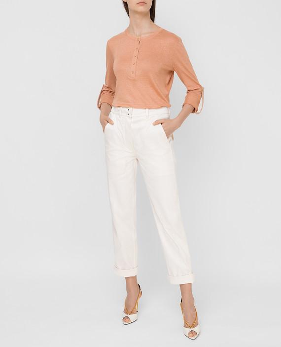 Пудровые брюки hover