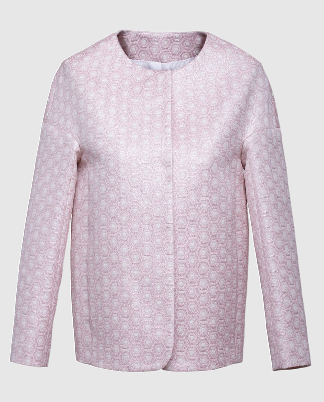 Peserico Розовый жакет S01469D