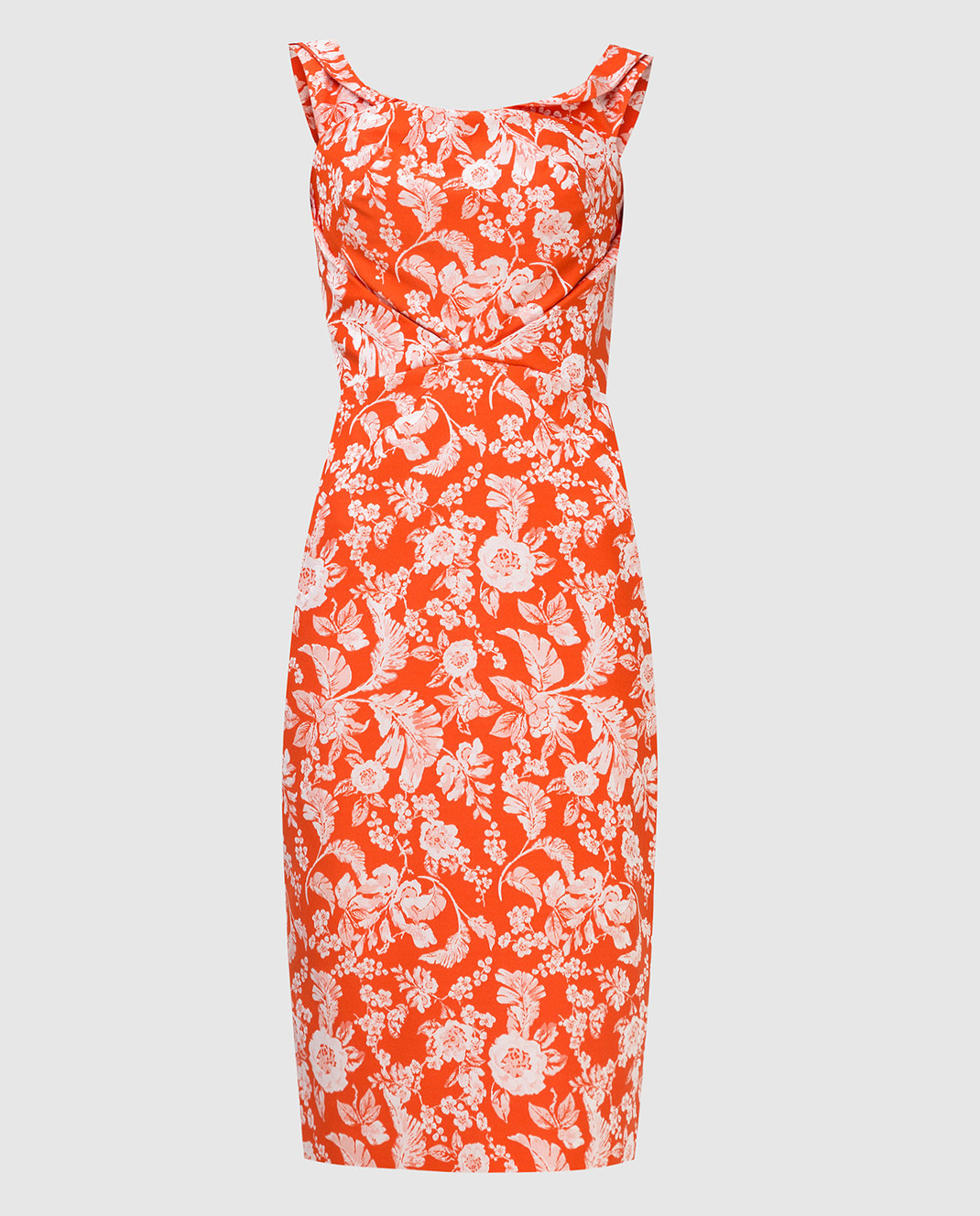 Zac Posen Оранжевое платье 23547753