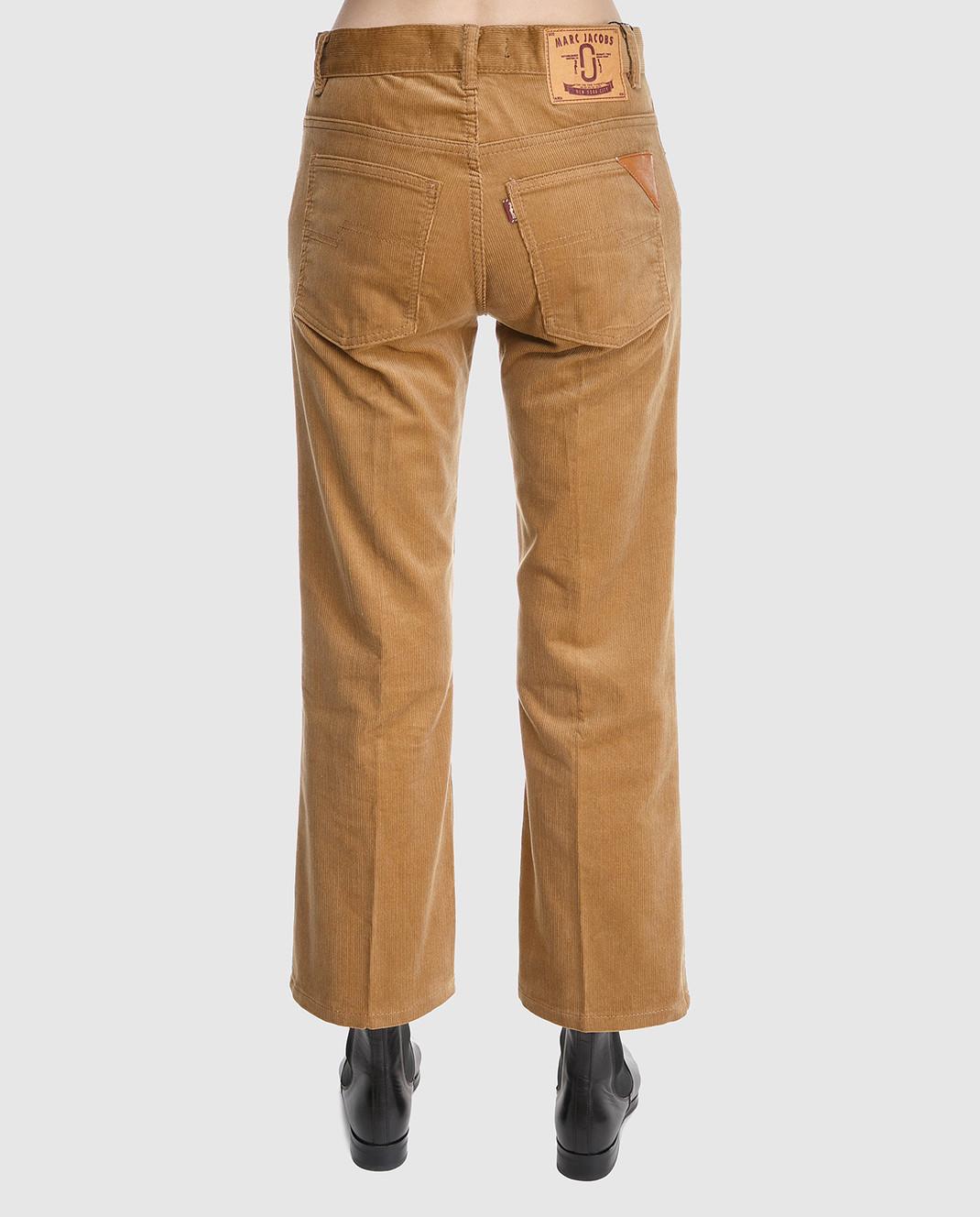 Marc Jacobs Рыжие вельветовые брюки M4007092 изображение 4