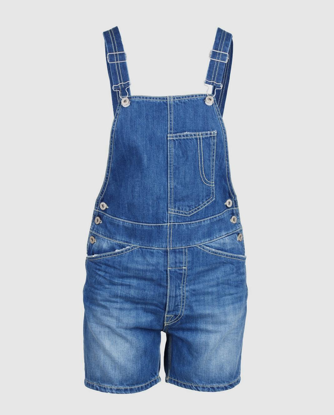 Dondup Синий джинсовый комбинезон DP229