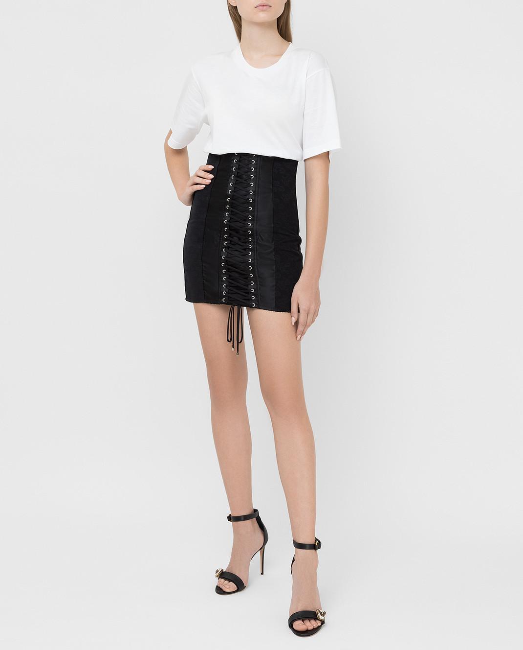 Dolce&Gabbana Черная юбка изображение 2
