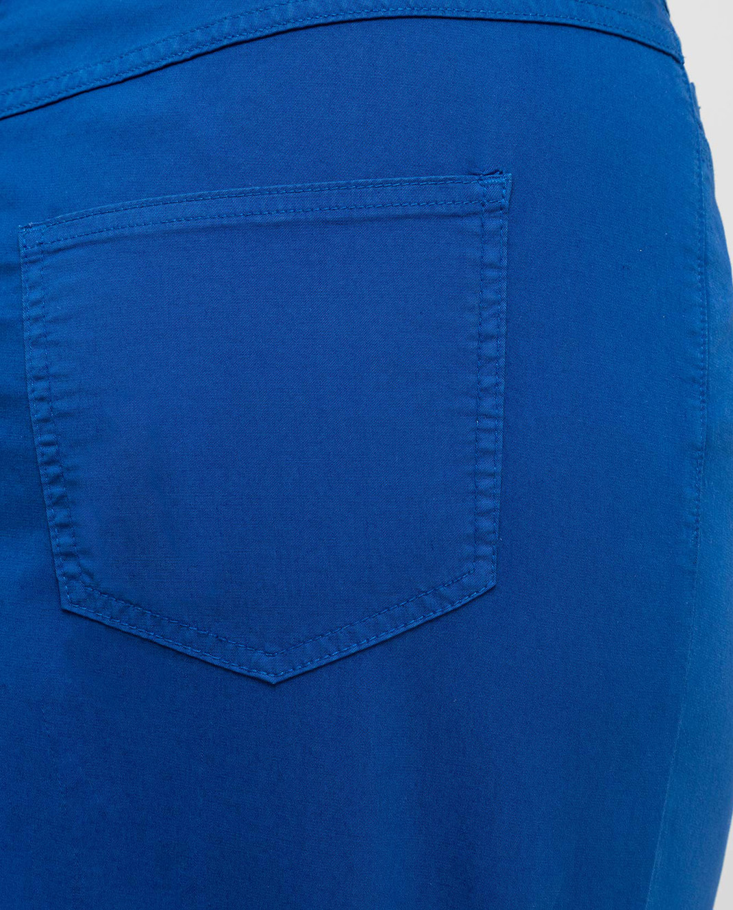 Marina Sport by Marina Rinaldi Темно-синяя джинсовая юбка CAROTENE изображение 5