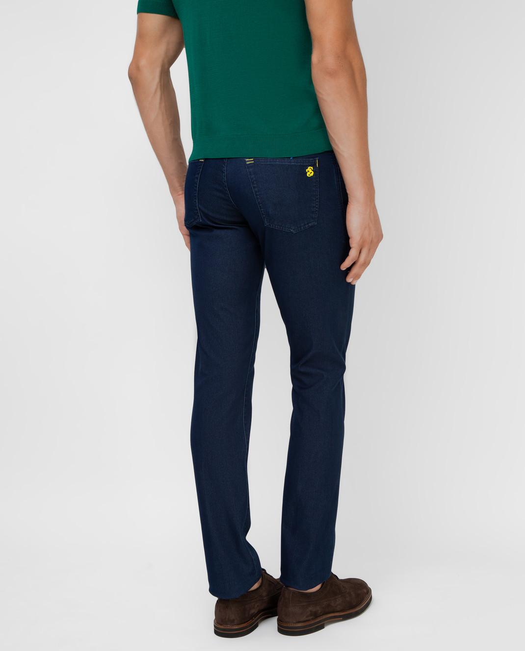 Scissor Scriptor Темно-синие джинсы изображение 4