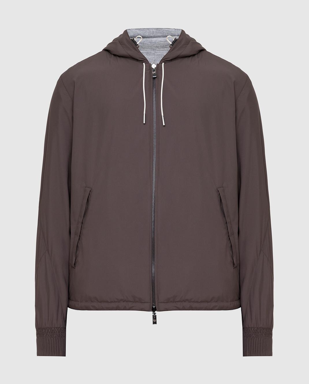 Ermenegildo Zegna Двухстороння куртка UST33S111B
