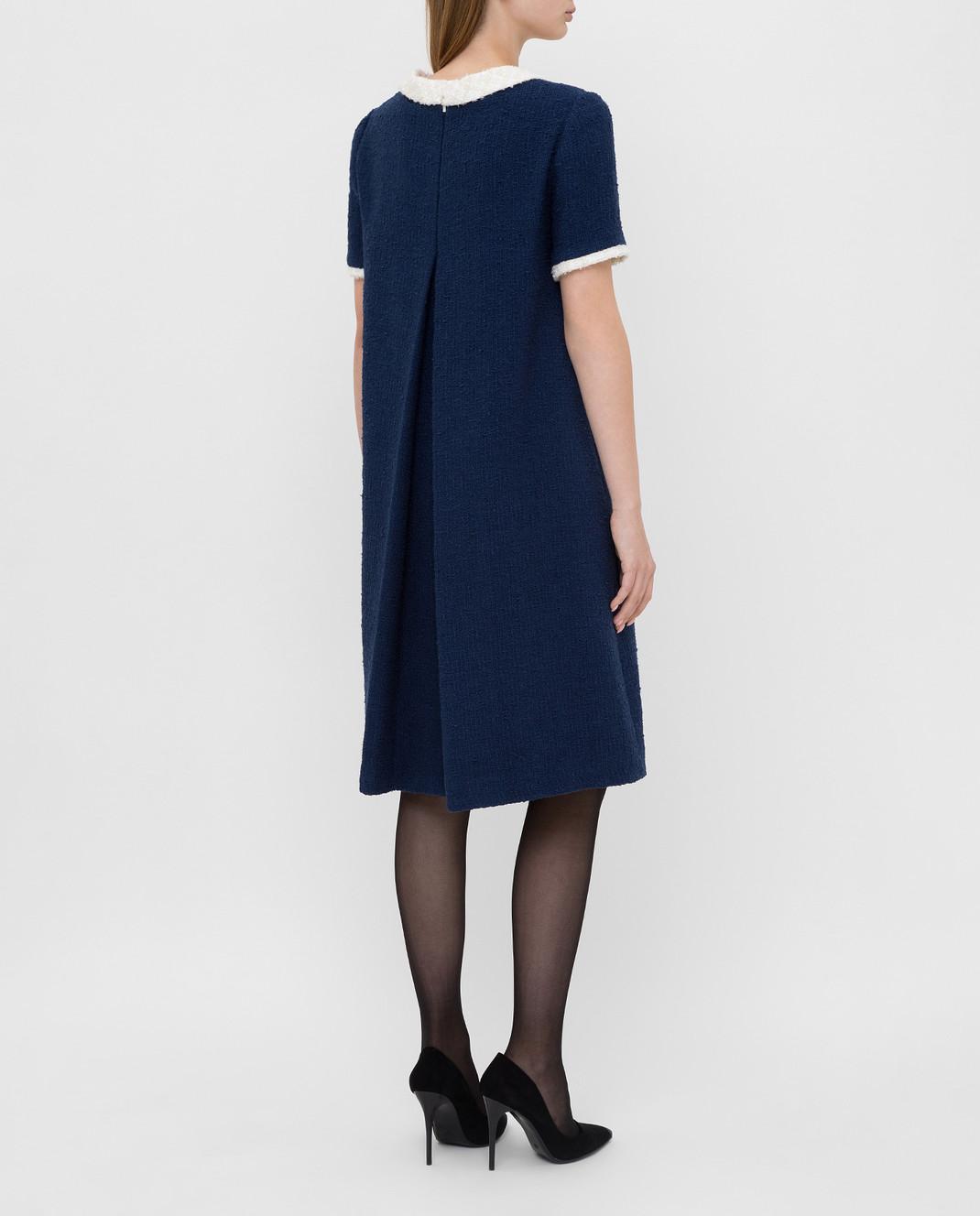 Gucci Синее платье 576826 изображение 4
