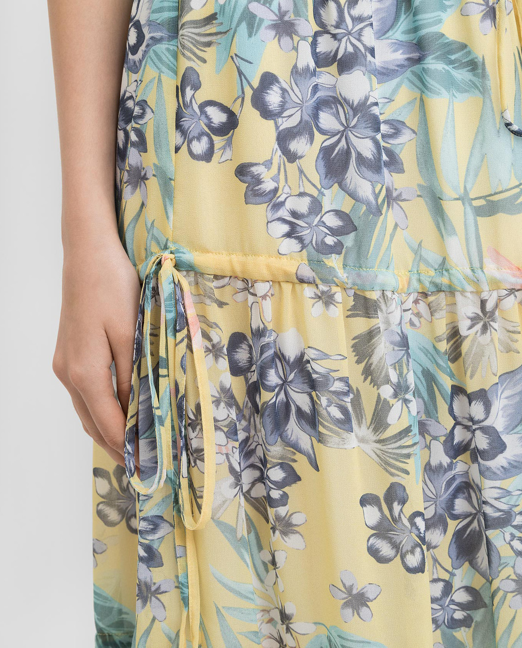 Ermanno Желтая юбка GN15 изображение 5