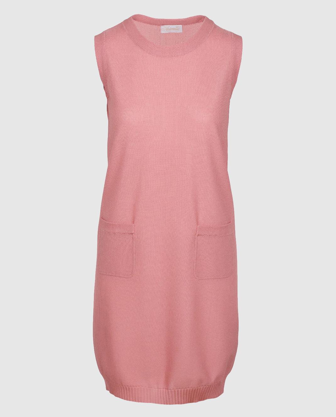 Antonella Creazioni Розовое платье 12260
