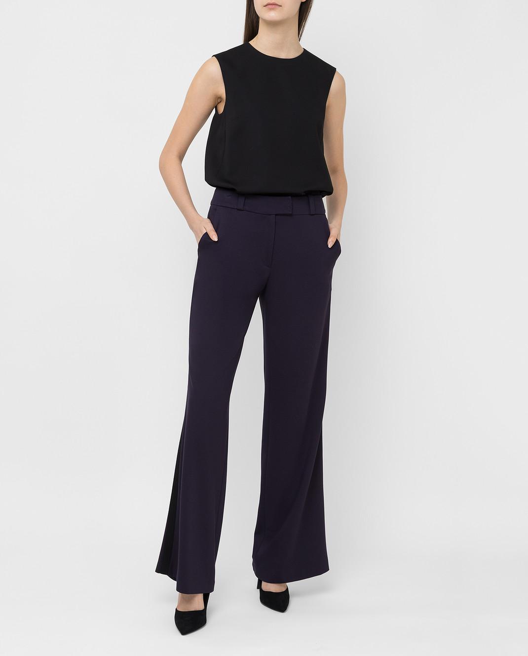 Maison Ullens Фиолетовые брюки PAN082 изображение 2