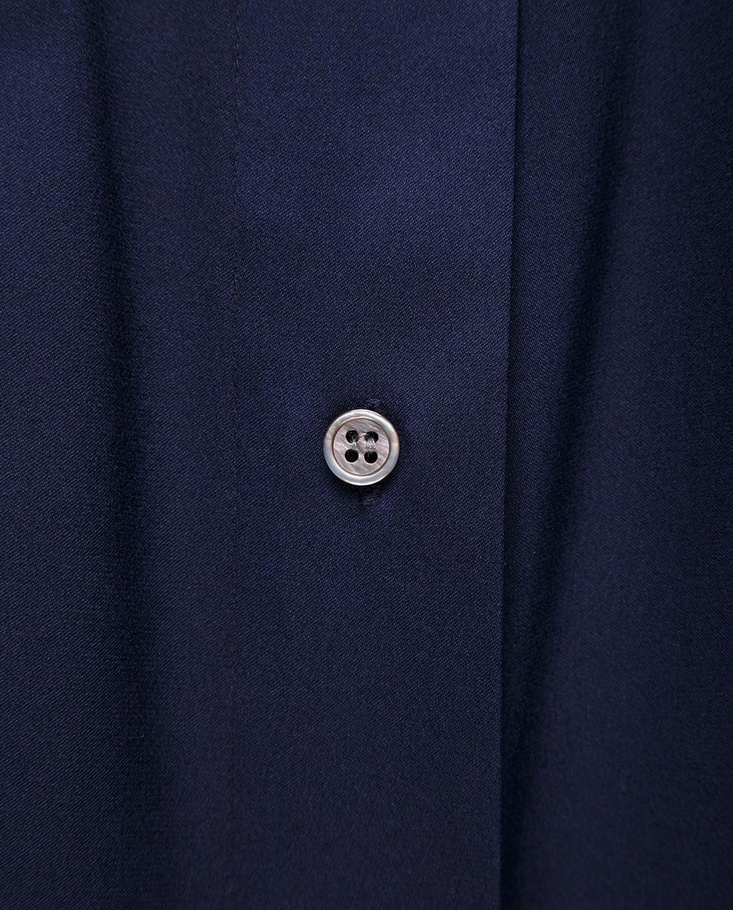 Allude Синяя блуза 18283003 изображение 5