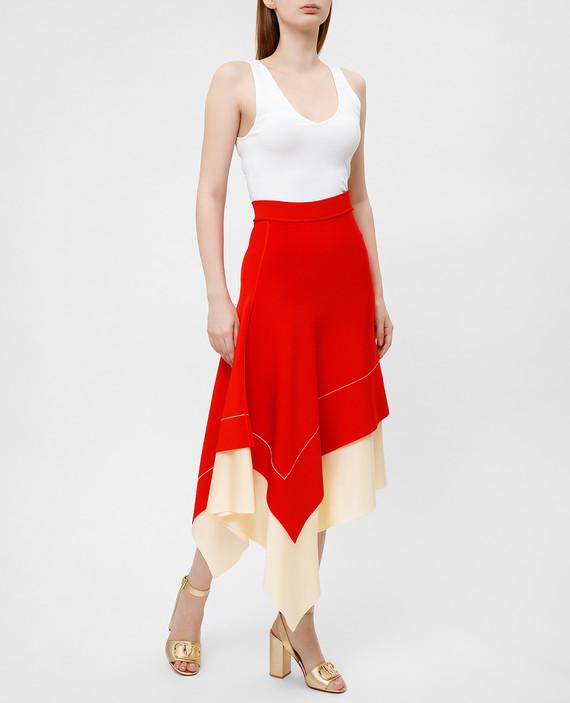 Красная юбка hover