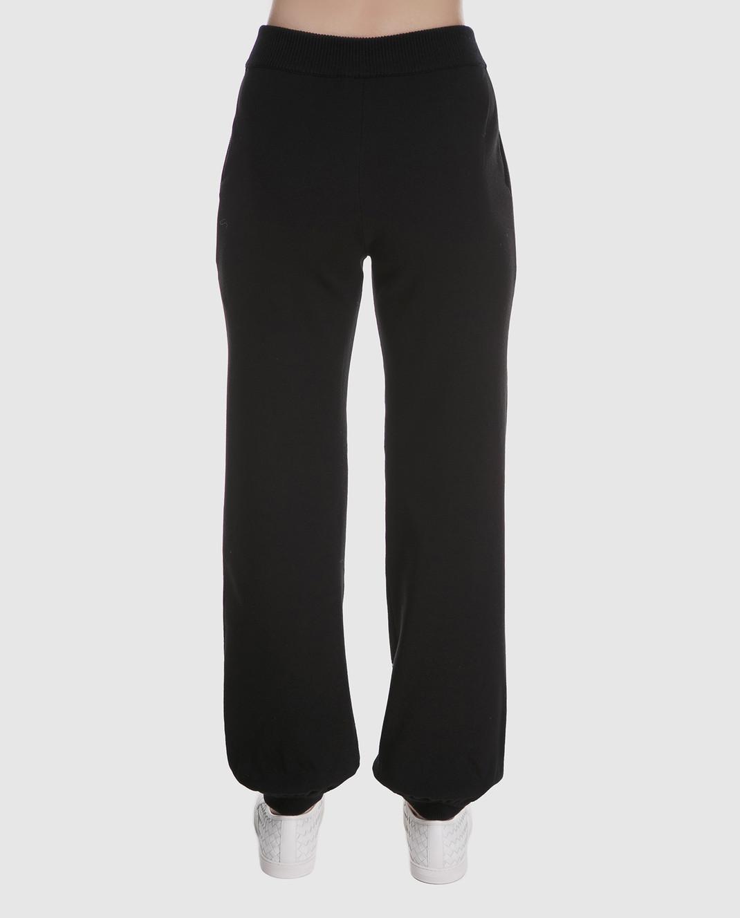 Chloe Черные брюки из шерсти 18SMT01540 изображение 4