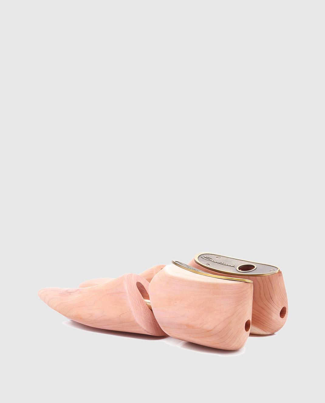 Santoni Бежевая колодка для обуви  из кедра UFAAA1069 изображение 3