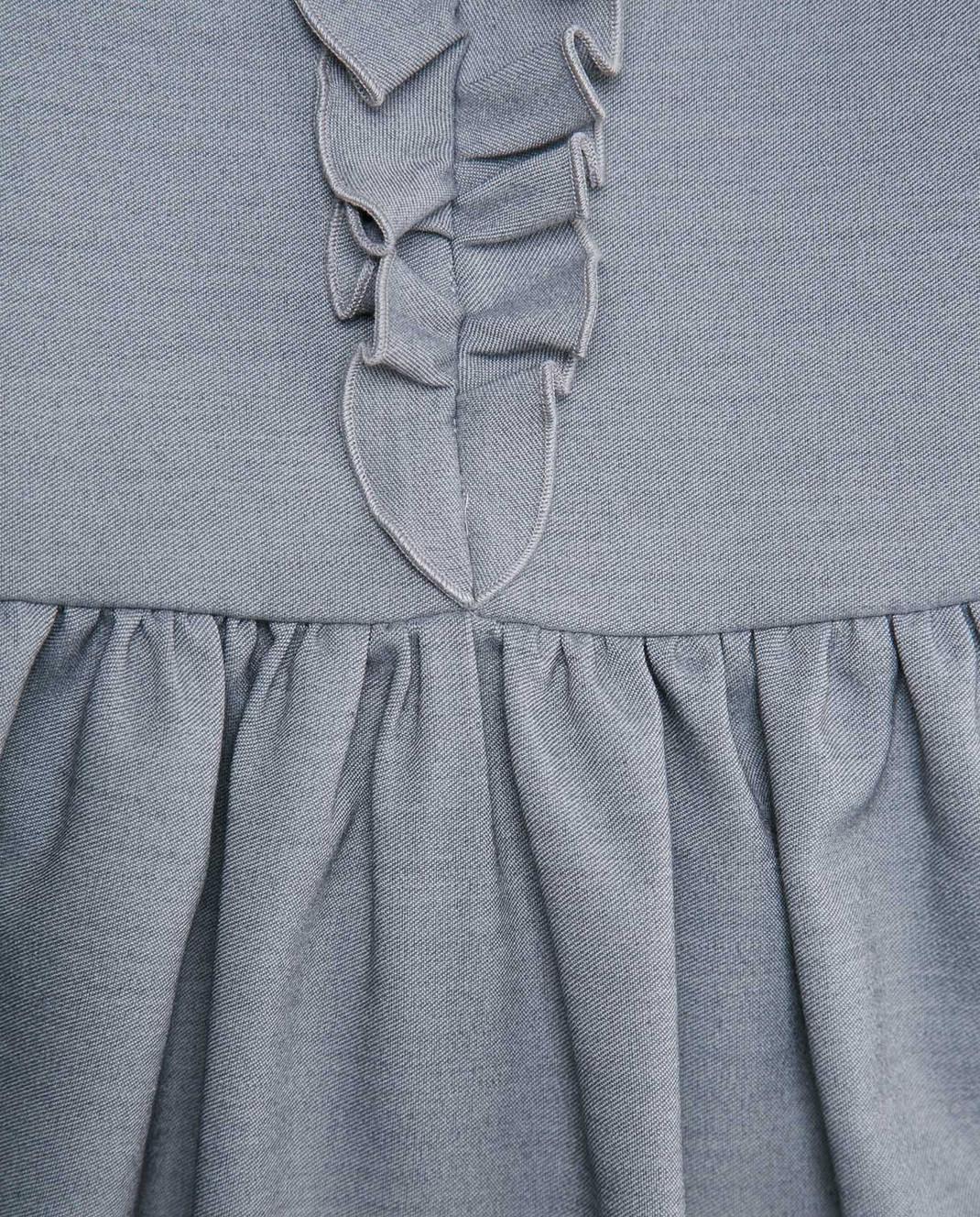 CAF Детское серое платье изображение 3