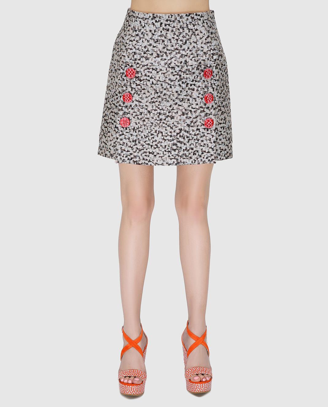 Dolce&Gabbana Серая юбка изображение 2