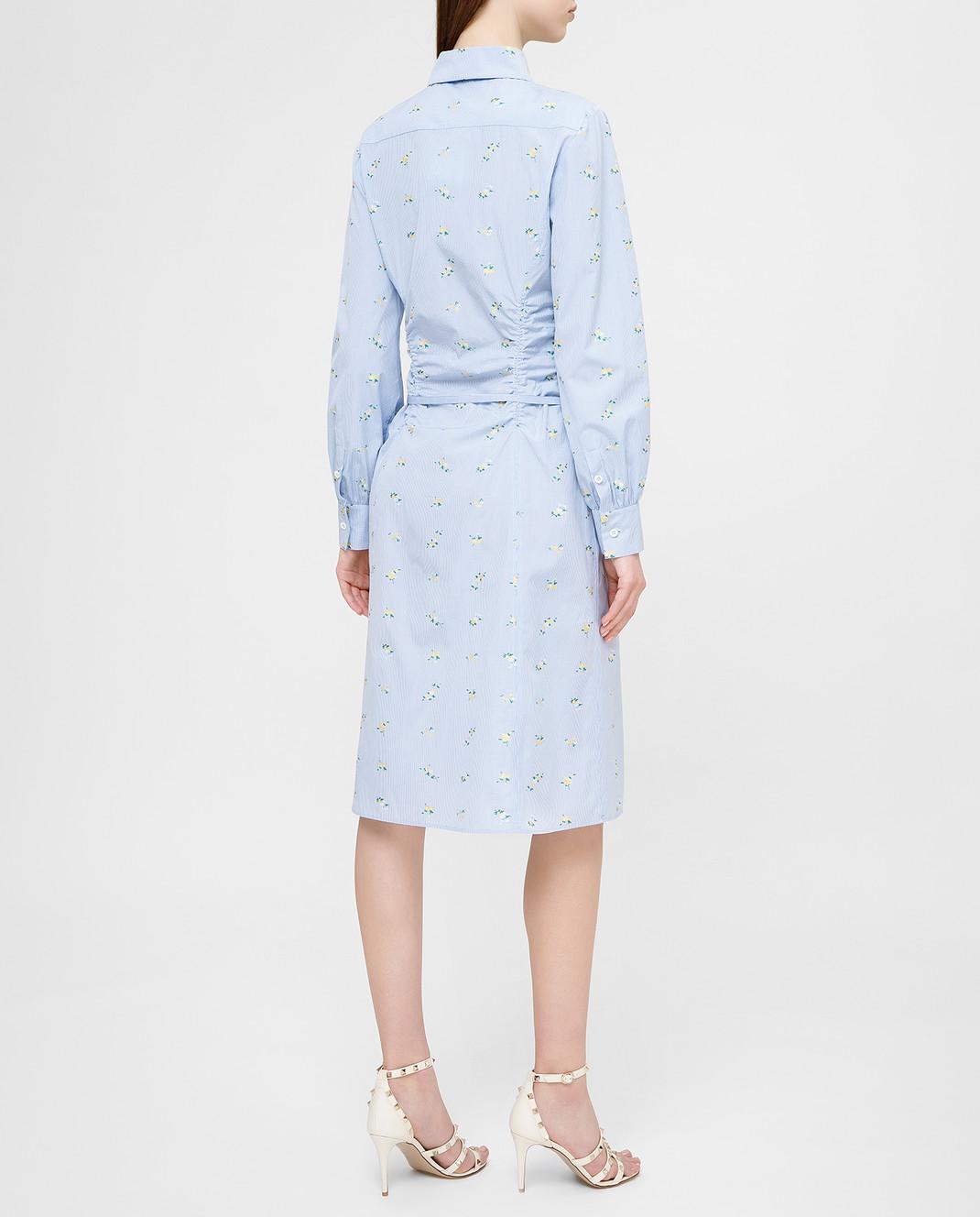 Altuzarra Голубое платье изображение 4