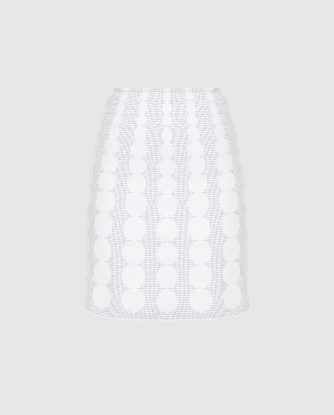 Azzedine Alaia Белая юбка изображение 1