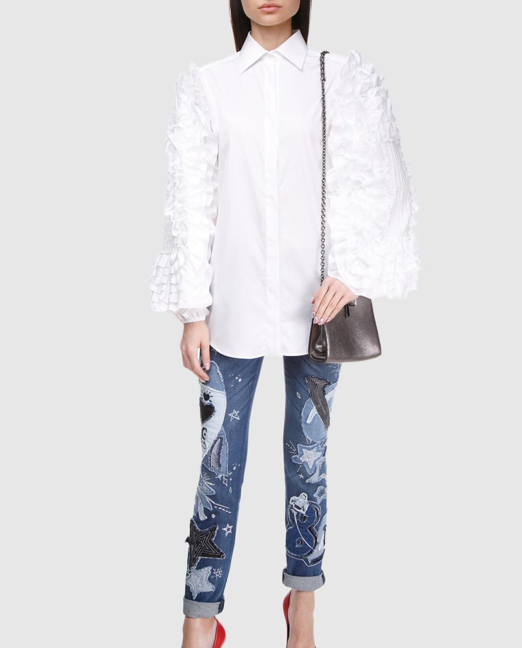 Dolce&Gabbana Синие джинсы FTAY1DG888B изображение 2