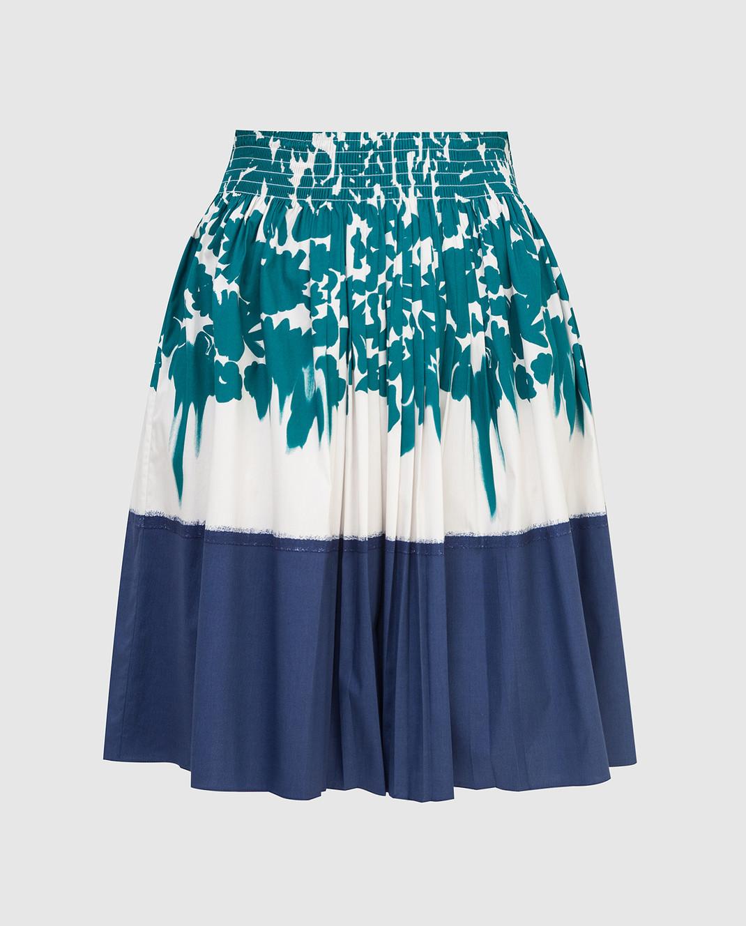 Prada Белая юбка изображение 1