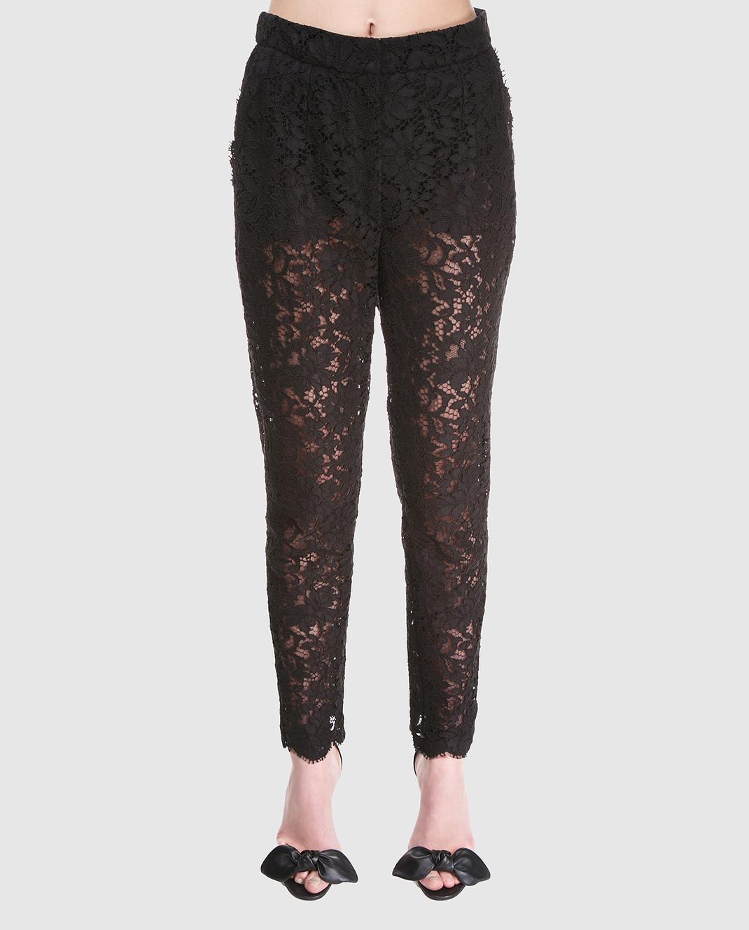 Dolce&Gabbana Черные брюки FTAZATHLMCL изображение 3