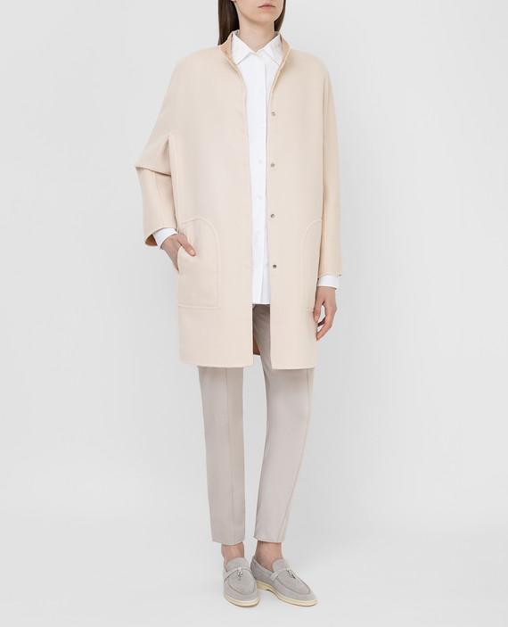 Двухстороннее пальто из кашемира hover