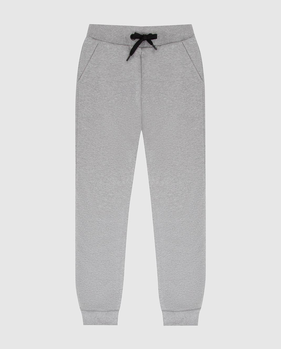 Fendi Детские серые спортивные брюки JMF15269