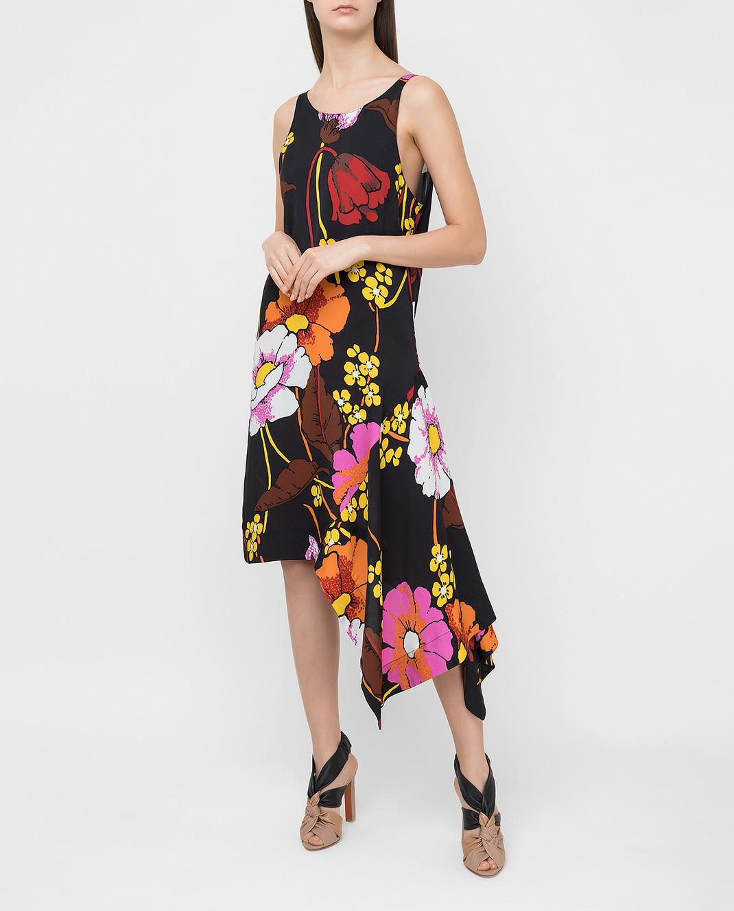 Marni Черное платье ABMAT50A00TV457 изображение 2